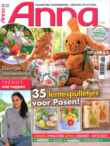 Anna handwerken magazine tijdschrift abonnement aanbieding